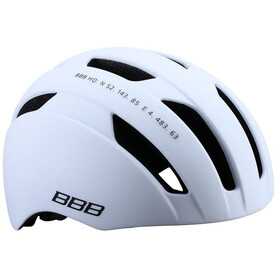 BBB Metro BHE-55 - Casco de bicicleta - blanco